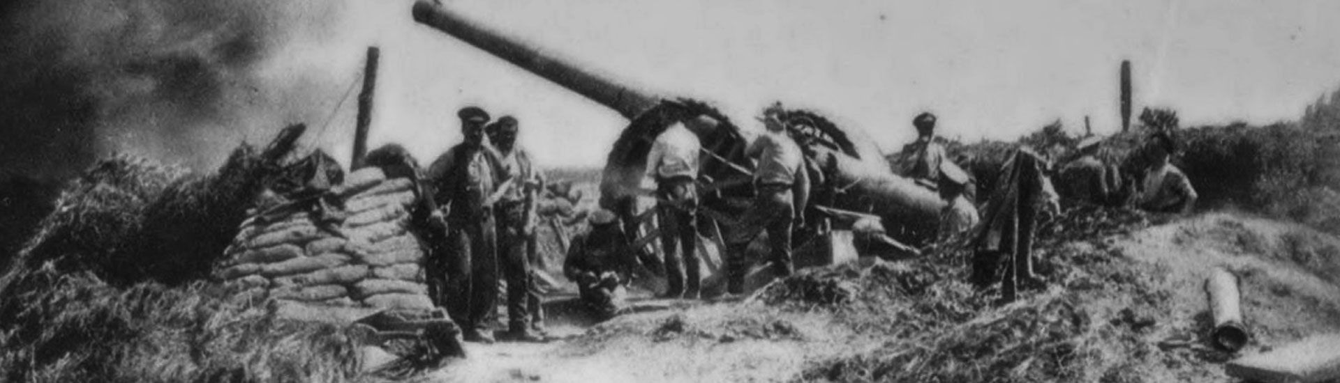 artillery on the somme